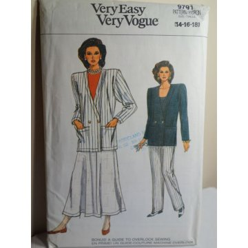VOGUE Sewing Pattern 9791