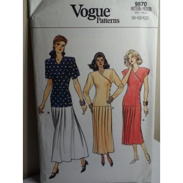 VOGUE Sewing Pattern 9870