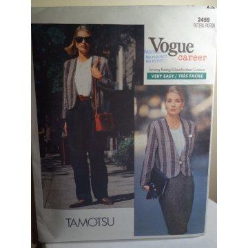 Vogue TAMOTSU Sewing Pattern 2455