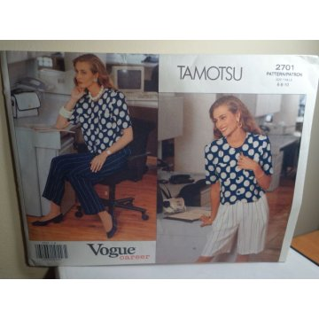Vogue TAMOTSU Sewing Pattern 2701