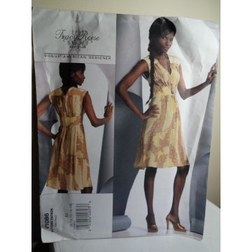 VOGUE Tracy Reese Sewing Pattern 1086